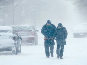 Безопасное поведение во время сильной метели и снежных заносов