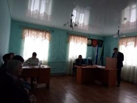 Отчетная сессия депутатов Совета сельского поселения