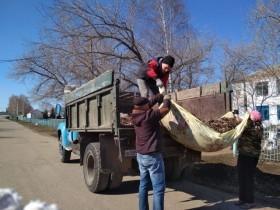 На территории сельского поселения Федоровский сельсовет состоялся общереспубликанский экологический субботник по благоустройству.